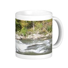 Breathtaking West Virginia River Mug!  These mugs come in several different shapes, styles and sizes!  Even the graphic is customizable!  Make it yours!