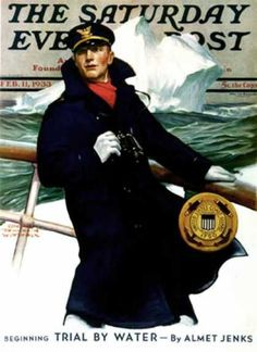 Saturday Evening Post 1933-02-11 USCG (Edgar Franklin Wittmack)
