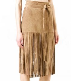 Street Style Trend Report: Fringe Skirts via @WhoWhatWear | P.A.R.O.S.H.
