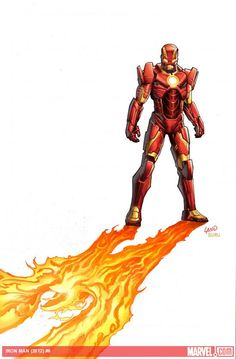 """This February, Tony Stark soars into space in your first look at IRON MAN #6,kicking offthe all-new arc """"God-Killer"""" by the blockbuster creative team of writer Kieron Gillen and artist Greg Land! Check out this preview art and get the details here!  IRON MAN #6 (DEC120600) Written by KIERON GILLEN Pencils and Cover by GREG LAND FOC – 1/14/13, On Sale – 2/6/2013"""