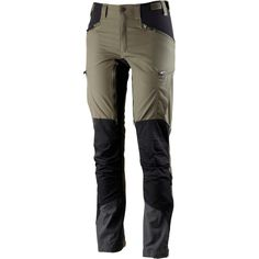 The Makke Pant from Lundhags is a fully functional trekking pant for women. It's light and made from LPC Stretch fabric, with Schoeller Dry Skin stretch-panels at seat, crotch and knees. Keprotec reinforced insteps. The fit is relatively tight and modern, perfect for trekking and other activites that demand a high degree of movability.