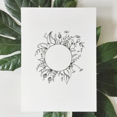 Amazing Art Emiko Woods Ink Painting When you Bullet Journal Ideas Pages, Bullet Journal Layout, Bullet Journal Inspiration, Wreath Drawing, Floral Drawing, Doodle Inspiration, Flower Doodles, Art Graphique, Floral Illustrations