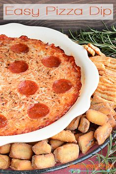 Easy Pizza Dip | Per