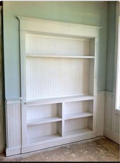 Narrow Shelves But Great Unused E Built In Storage Wall Kitchen