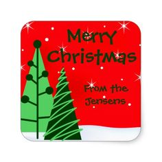 Shop Personalized Christmas Holiday Gift Tag Stickers created by thechristmascardshop. Christmas Stickers, Christmas Themes, Christmas Holidays, Christmas Gifts, Happy Holidays, Holiday Essentials, Holiday Gift Tags, Sticker Design, Custom Stickers