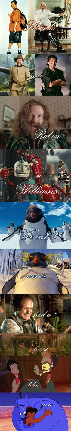 Thank You Robin Williams...