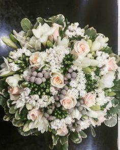 Wedding Flower Bouquet by Philanthia Flower Boutique, Skidra, Greece. Flower Boutique, Flower Bouquet Wedding, Grass, Greece, Floral Wreath, Bloom, Wreaths, Bridal, Pink