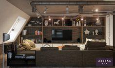 Дизайн интерьера квартиры, дома, коттеджа, помещений в Санкт-Петербурге — Азбука Дом » Дизайн квартиры в г. Пушкин