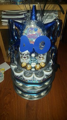 Modelo Beer Cake Cute Ideas Cakepins Com Party Ideas