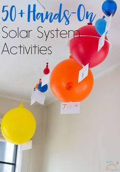 50+ Hands-On Solar System projects for kids! Your students will love all these fun activities about the solar system! via /lifeovercs/