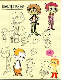 Character Design by Paul Briggs of PBCBstudios.com
