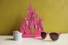 Jewelry Stand specially designed for your little princes. Will hold earrings and rings and necklaces.   Dimension:  * Height 25 cm  * Width 17 cm