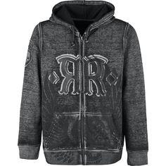 """EMP Rock Robel on tunnettu upeasti tyylitellyistä, rock-henkisistä vaatteistaan, eikä tämä """"Original Sinners""""-vetoketjuhuppari tee poikkeusta!"""
