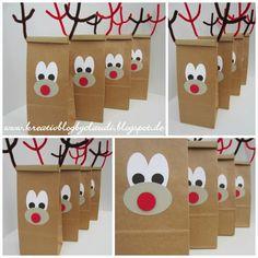 .    Kreativ Blog by Claudi: Rudolf, das kleine Rentier