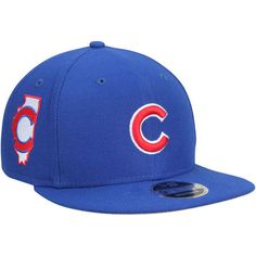 b349a1c5a3f Men s New Era Royal Chicago Cubs 2016 World Series Champions Side ...