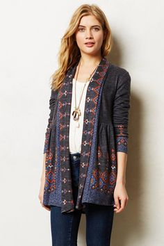 Laurette Cardigan - anthropologie.com $88