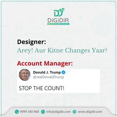 That endless tussle between a designer and an account manager while finalizing a creative.🤪 Digital Marketing Services, Social Media Marketing, Accounting Manager, Growing Your Business, Creative Design, Logo Design, Management, Branding, Brand Management
