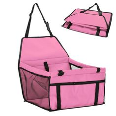 60f39143ccf Folding Pet Dog Carrier Waterproof Oxford Cloth Hammock Car Seat Cover  Carrier for Small Medium Dogs Pet Travel Mat Safety Belt