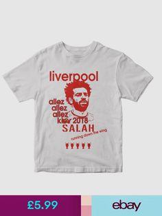 Gildan T-Shirts Shoes & Accessories Mo Salah, Mohamed Salah, Liverpool, Mens Tops, T Shirt, Clothes, Shopping, Accessories, Shoes