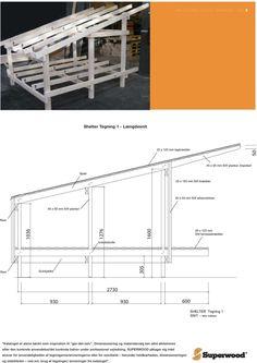 Billedresultat for shelter tegning Small Log Cabin, Outdoor Shelters, Shelter Design, Shelter Me, Wood Shed, Lean To, Fire Pit Backyard, Dog Houses, Outdoor Life