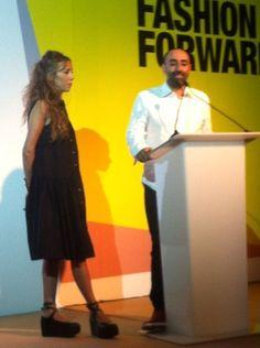 Tala Hajjar and Rabih Kayrouz for Starch Foundation at Fashion Forward Dubai