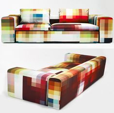 Pixel Sofa by Cristian Zuzunaga for Moroso