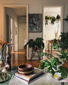 Home Interior Plants .Home Interior Plants Apartment Living, Dream Apartment, Bedroom Apartment, Space Interiors, Home Decor Pictures, Decoration Design, Living Room Inspiration, Interior Inspiration, Cozy House