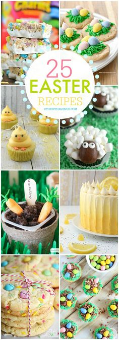 Easter Recipes at the36thavenue.com Pin it now and make them later!