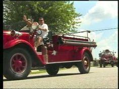 Vintage Fire truck Parade - Fly/In Cruise/In Gas City, Fire Trucks, Antique Cars, Cruise, Vintage, Psychics, Vintage Cars, Cruises, Fire Engine