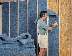 Stay warm this winter with the best insulation for your home. Don't know which type to choose? Check out Natural Home's guide to the best insulation types: spray foam, cotton, denim and cellulose insulation. Garage Insulation, Types Of Insulation, Best Insulation, Spray Foam Insulation, Cellulose Insulation, Casas Containers, Container House Plans, Basement Bedrooms, Basement Plans
