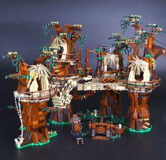 [ 30% Off ] Lepin Star War 1990pcs 05047 Ewok Village Building Blocks Juguete Para Construir Bricks Toys Compatible LegoINGly 10236