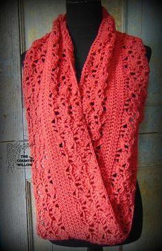 Bufanda, en rojo.