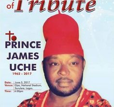 Nollywood actor Prince James Uche may have been forgotten so soon by many but for some of his colleagues that stood by him he still holds a strong part in their hearts.  Uche who has been battling kidney disease passed away on Wednesday 8thMarch 2017 leaving behind his children who dropped out of school to take care of him.  According to the secretary of Actors Guild of Nigeria Jude Orhorha today June 5th2017 will be his tribute and candle light procession which will be held at Ojez by 4pm…