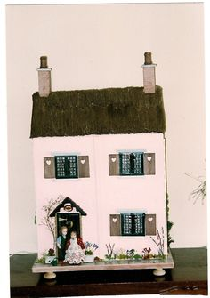 Thatched Cottage, made by Joan Joyce.