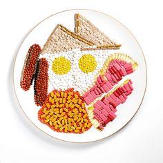 pill plate food art - andy macgregor