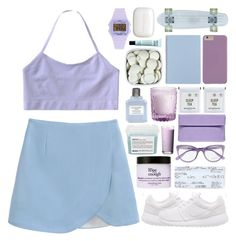 """""""Lavender Fields"""" by chelseapetrillo ❤ liked on Polyvore"""