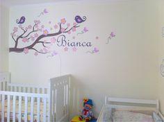 Ideias de adesivos decorativos para quarto de bebé - http://dicasdecoracao.net/ideias-de-adesivos-decorativos-para-quarto-de-bebe/