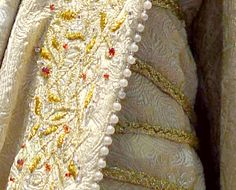 The Lord of the Rings Eowyn coronation gown