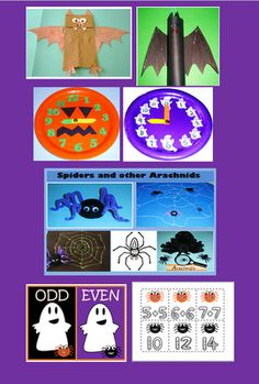 Happy Halloween Activities for Kids from Learning Ideas - Grades K-8