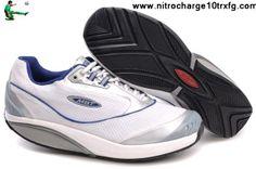 Cheap Discount MBT Kimondo Shoes White Silver Shoes Store