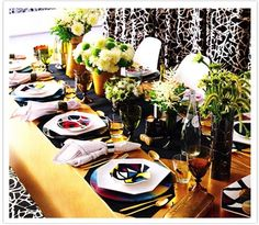 dvf entertaining in style!