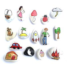 Story Stones General mix 1 by LittlebyNature on Etsy