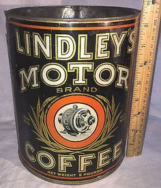 Lindley's Motor Brand Coffee