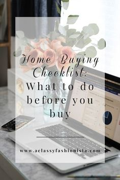 With every passing day, Chris and I are getting closer & closer to owning our own home. First Home Checklist, Home Buying Checklist, Home Buying Tips, Home Buying Process, Buying Your First Home, First Time Home Buyers, New Mobile Homes, New Homes, Hosting Thanksgiving