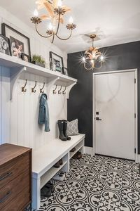 Are you looking for Rustic Farmhouse Mudroom Ideas? Maybe mudroom is a room that is rarely found in several homes, but many modern families consider . House Design, Mudroom, Mudroom Decor, House, Craftsman House Plans, Home, Farmhouse Laundry Room, Mudroom Design, Flex Room