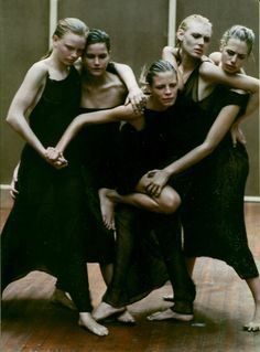 Vogue Italia, September 1997 Enchanting Mood Photo Peter Lindbergh