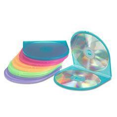 Innovera 87910 CD/DVD Shell Case, Assorted Colors, 10 per Pack Review