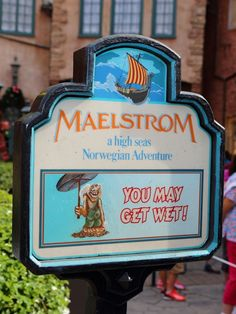 Maelstrom Ride in Norway Pavilion at Epcot.