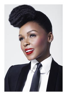 Janelle Monae looks good in a suit