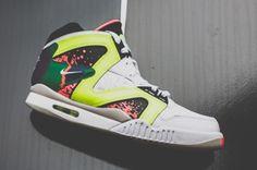 #Nike Air Tech Challenge Hybrid OG White #sneakers